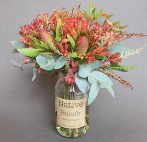 Native flower Posy | Christmas mood