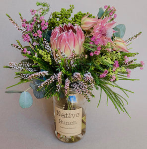 Native Bunch weekly Posy Touch of Pink