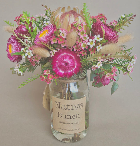 Native Flower posy by Native Bunch Summery treat