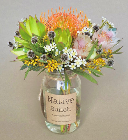 native flower posy sydney northern beaches delivery native flower bunch | native flower delivery dee why, narraweena, brookvale