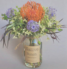 Balgowlah florist | protea and banksia flower delivery | northern beaches delivery native flowers
