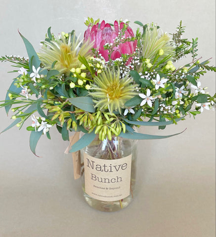 native flower posy/bunch flower delivery   northern beaches native flower delivery