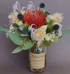 Native flower delivery Sydney Northern Beaches Native flower Posy $30 Banksias, Proteas and more!