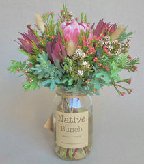 Northern beaches native flower delivery | Sydney north shore & northern beaches native flower delivery | native flowers in a jar from $35