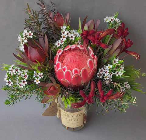 Native flower delivery | Beautiful native flowers Protea venus & Kangaroo paw delivered to /sydney Northern Beaches, North Shore, Eastern suburbs and Inner West Free delivery!