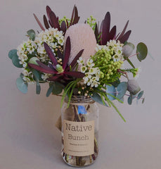 Sydney native flower delivery from $30 Native flower posy by Native Bunch delivered to Sydney Northern Beaches, Sydney North Shore and Sydney Inner West