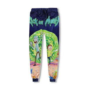 Rick and Morty Portal Casual Sweatpants - The Gym Stop
