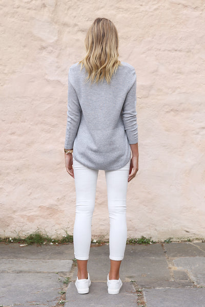 Poppy Knit - Grey