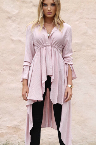 Rosie Shirt - Blush