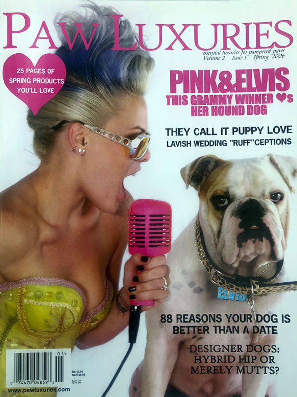 Pink Paw Luxuries Cover and Feature