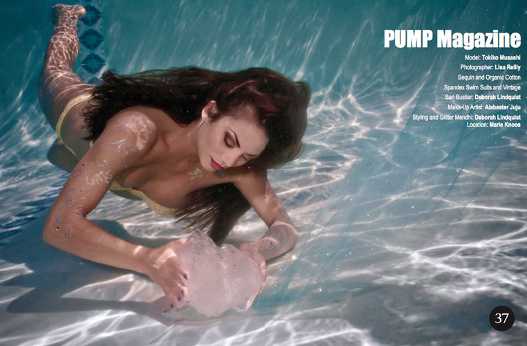 pump magazine underwater