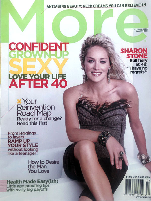 sharon stone more magazine