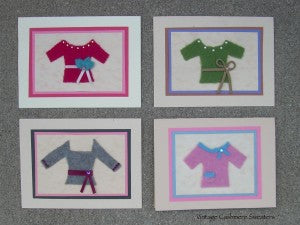 cashmere sweater cards