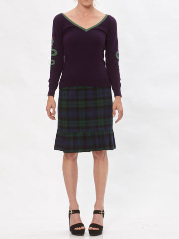 Kristin Plaid Skirt