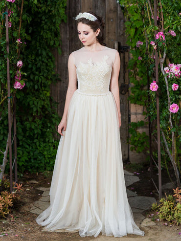 Beulah Beaded Wedding Gown