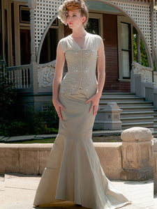 Eunice Beaded Wedding Gown