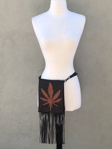 Hemp Applique Bag