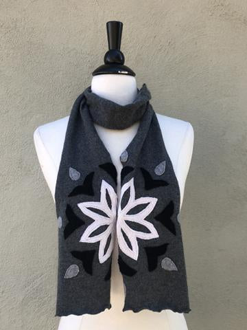 Mandala Applique Scarf