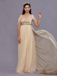 Josephine Empire Wedding Gown