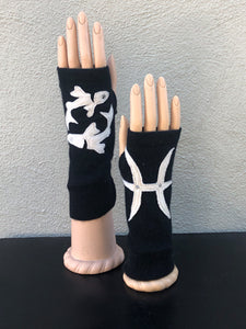 Astrology Fingerless Gloves