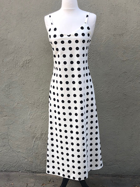Polkadot Bias Slipdress