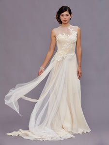 Vivienne Beaded Wedding Gown