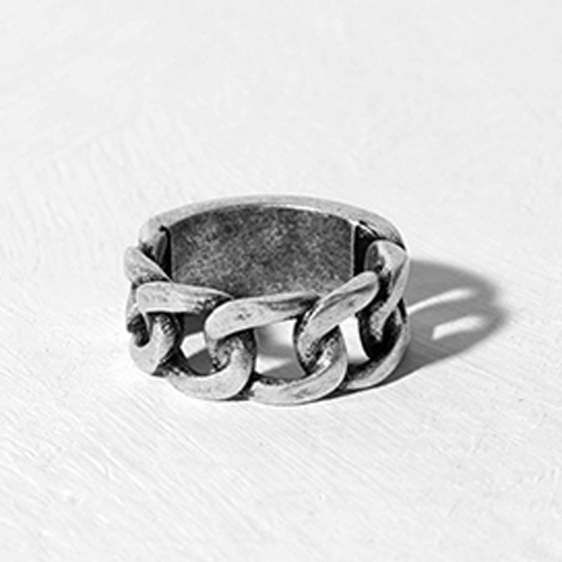 Grunge Chain Link Ring