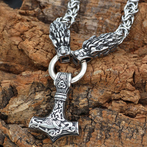 Viking Chainmail Necklace