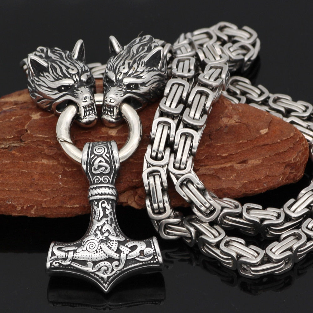 Viking King Chain Necklace