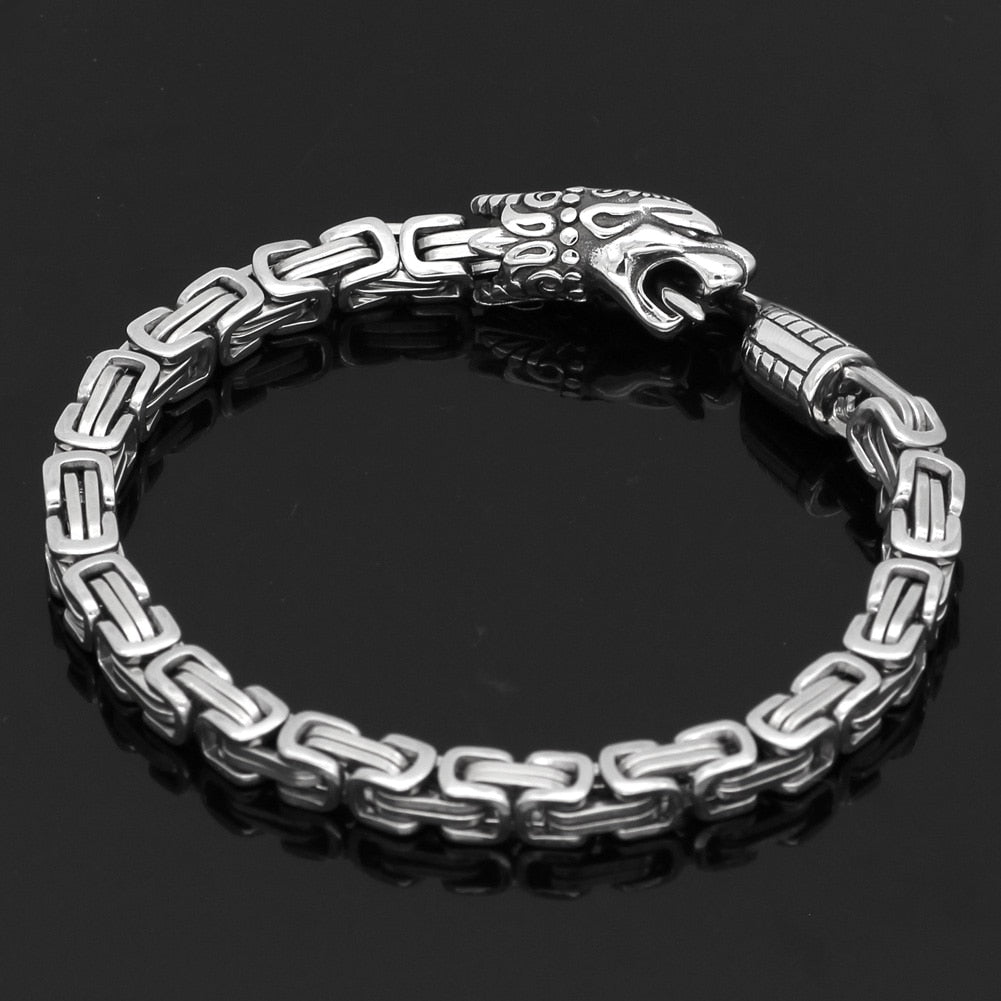 Viking King Chain Animal Bracelet