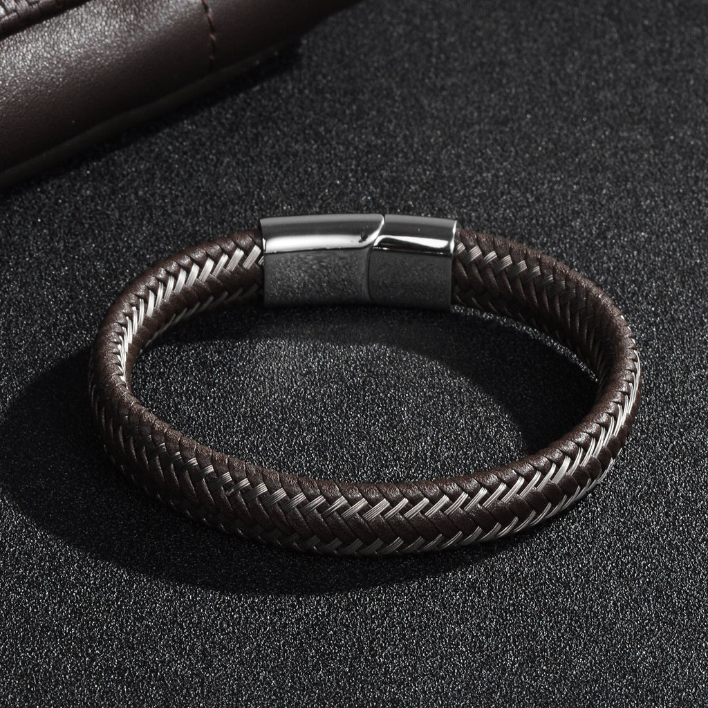 Stainless Steel Wrapped Bracelet