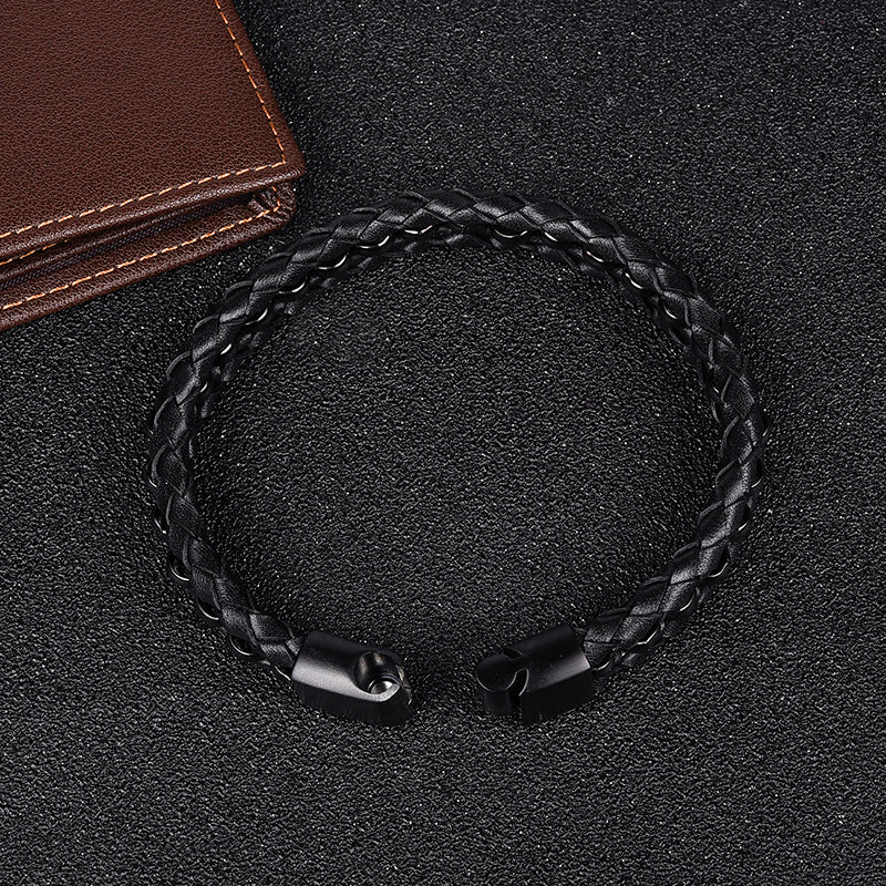 Braided Link Chain Bracelet