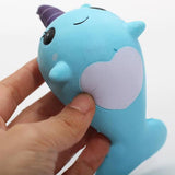 Millie the Whale Narwhal Squishie
