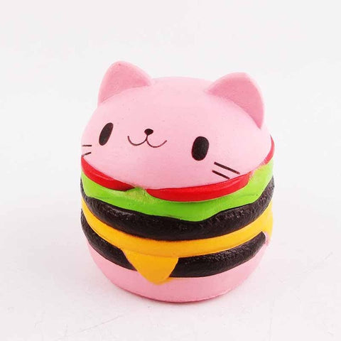 One Purr-fectly COLORFUL Burger