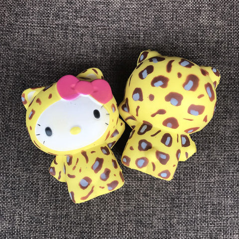 Hello Kitty is the Leopard's Meow!