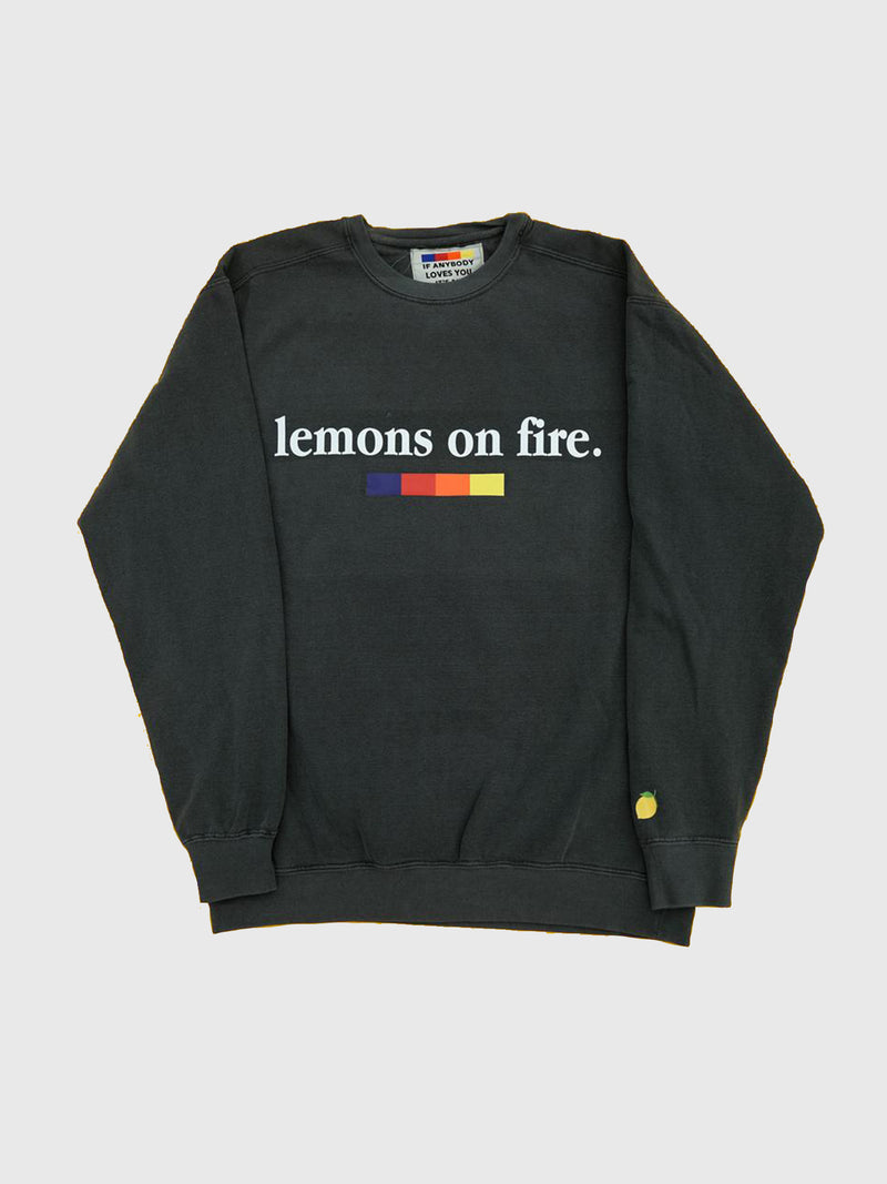 Lemons on Fire Crewneck