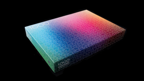 1000 Colours Jigsaw Puzzle - My Modern Met Store