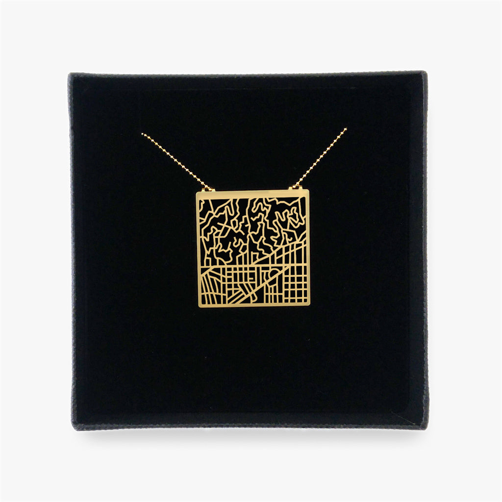 Los Angeles Map Necklace - My Modern Met Store