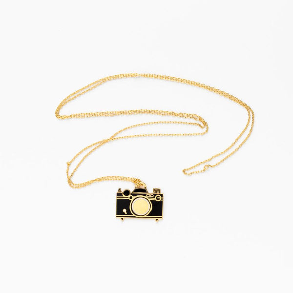 Camera Necklace by Yellow Owl Workshop