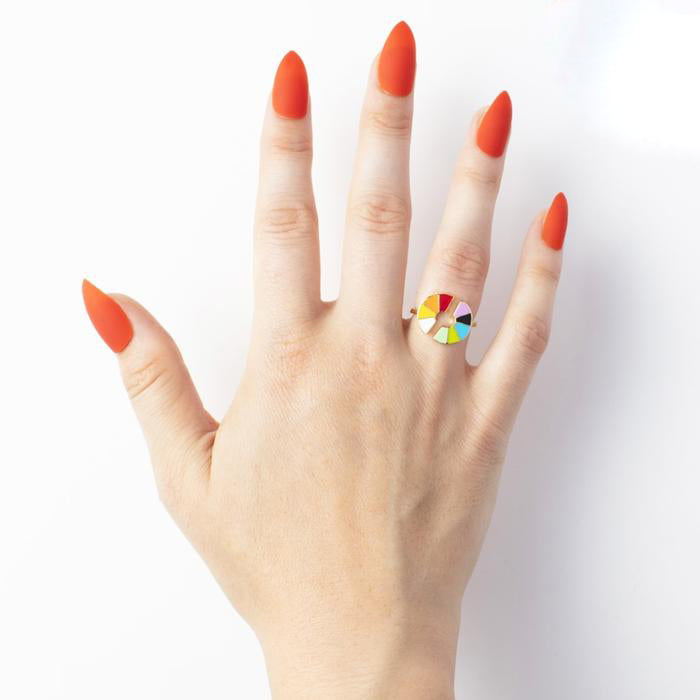 Color Wheel Ring