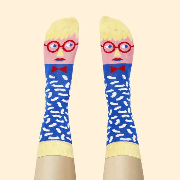 'David Sock-Knee' Socks - My Modern Met Store
