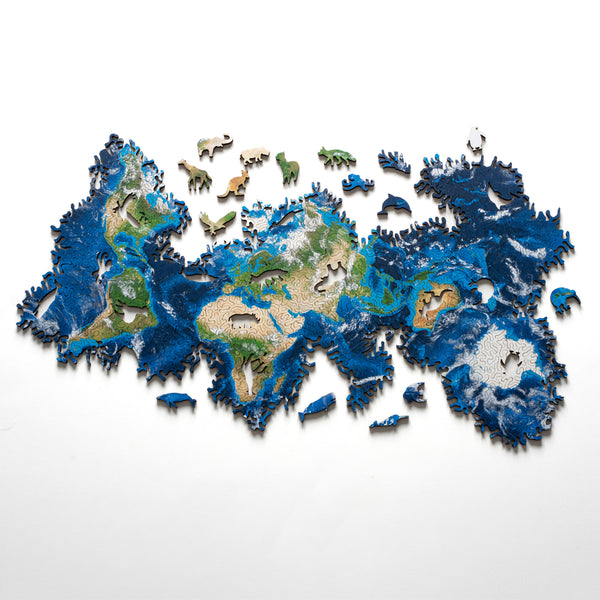 Earth Jigsaw Puzzle - My Modern Met Store