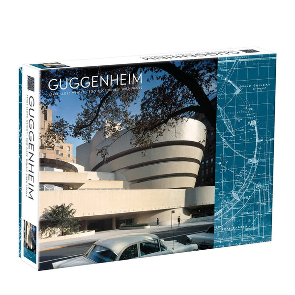 'Guggenheim' Double-Sided 500-Piece Puzzle - My Modern Met Store