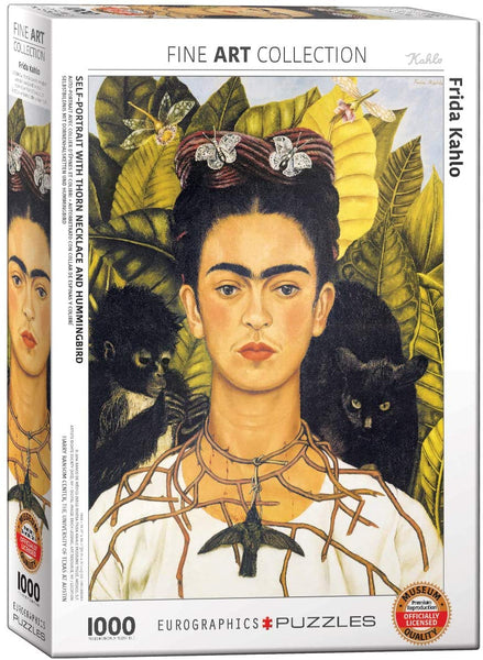 Frida Kahlo Self-Portrait 1000 Piece Jigsaw Puzzle