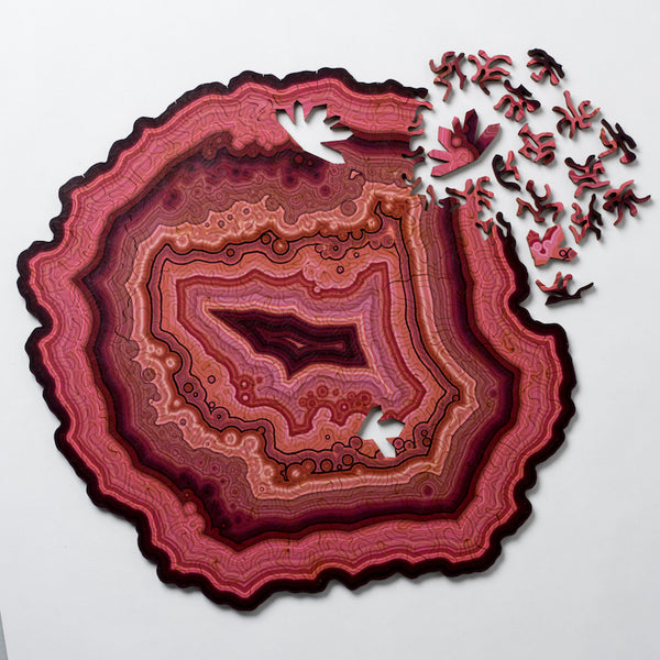 Large Geode Jigsaw Puzzle - My Modern Met Store