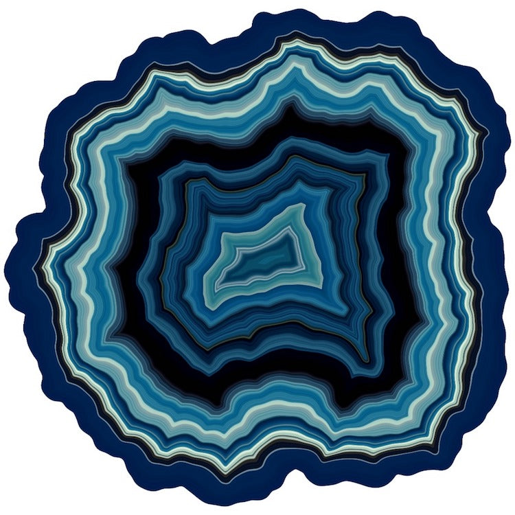 Every Computer-Generated Geode Jigsaw Puzzle is One-of-a-Kind