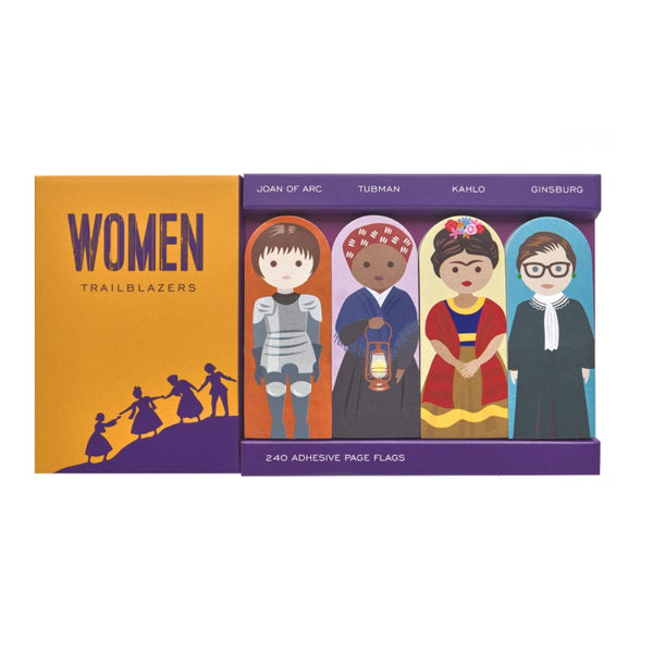 'Classic Characters: Women Trailblazers' Page Flags Set - My Modern Met Store