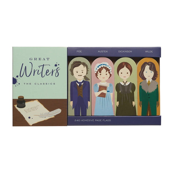 'Great Writers: The Classics' Page Flags Set - My Modern Met Store