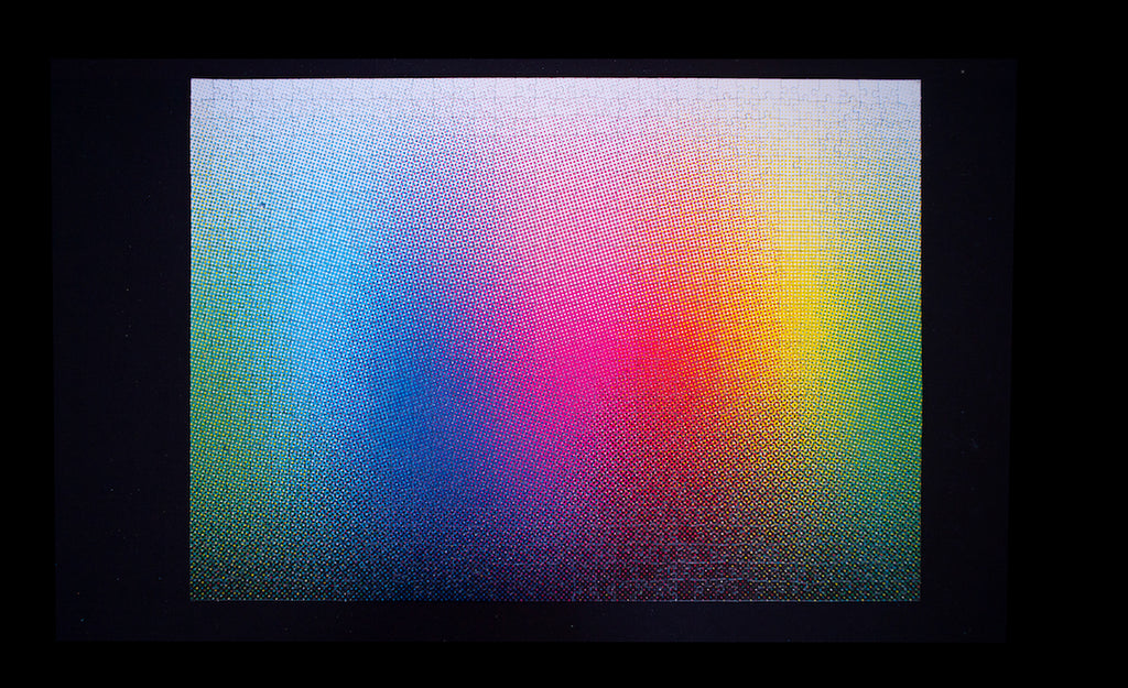 1000 Halftone Colours Jigsaw Puzzle