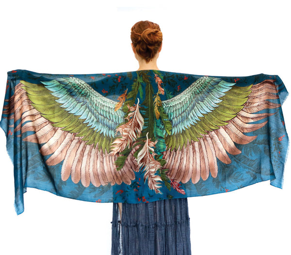 Jasper Wings Bird Scarf - My Modern Met Store